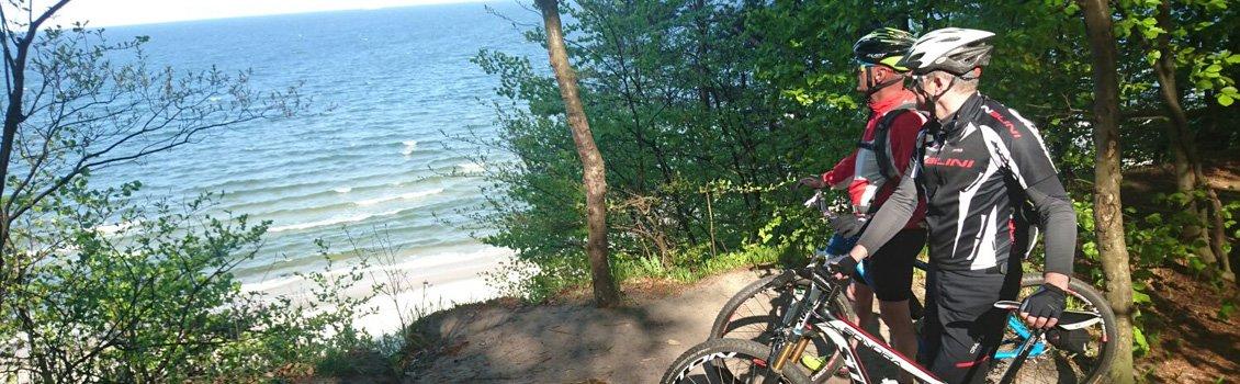 Rad fahren auf Usedom
